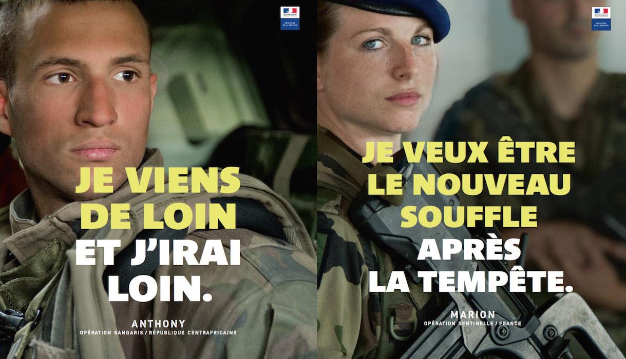 Campagne de recrutement Armée de terre 2016